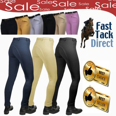 Gallop Ladies Classic Plain Jodhpurs