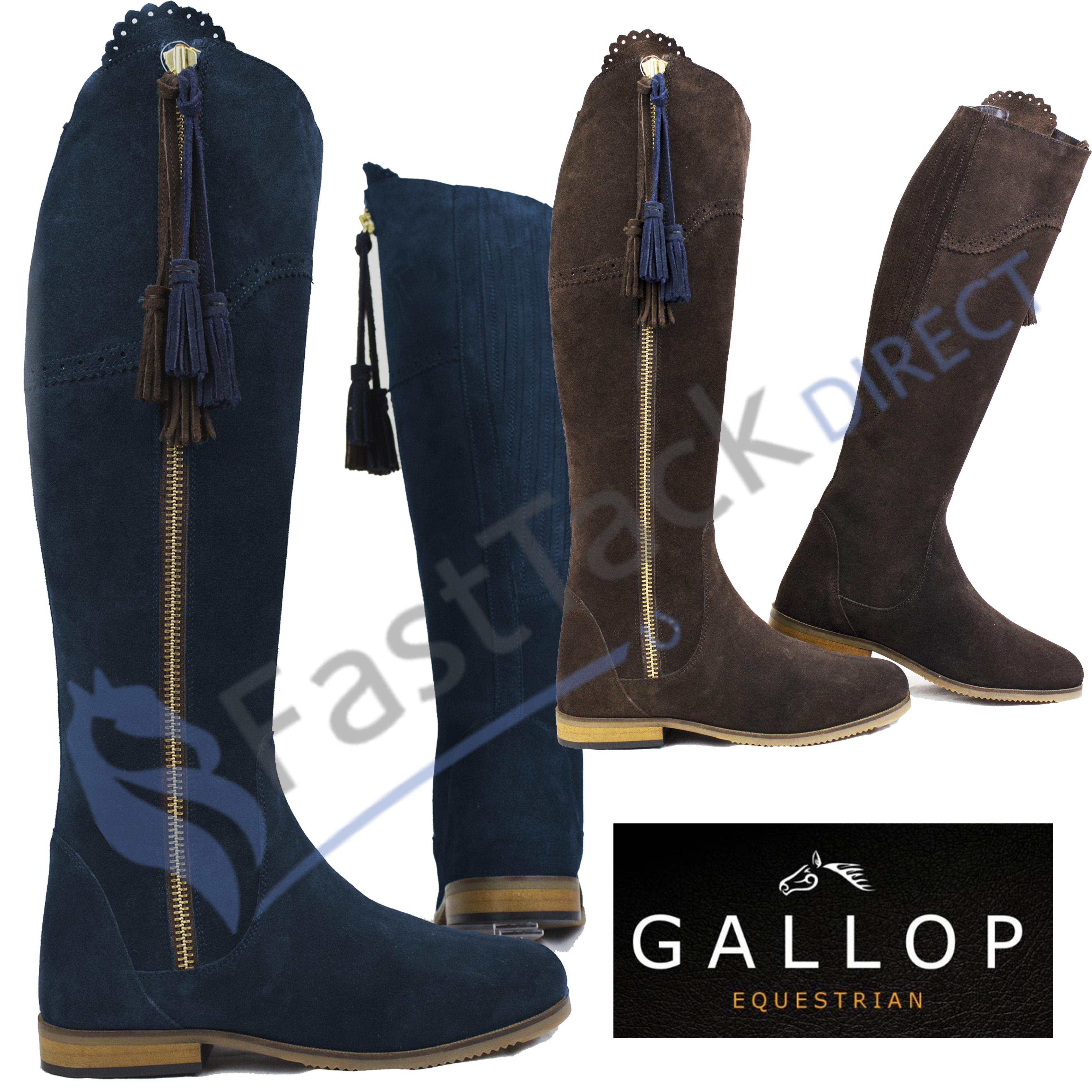 Gallop Seville Spanish Style Long Suede