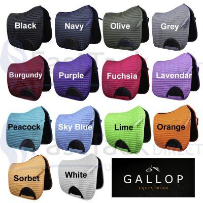 Gallop Prestige Quilted Dressage Saddle Pad