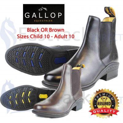 Elegance Leather Jodhpur Boots