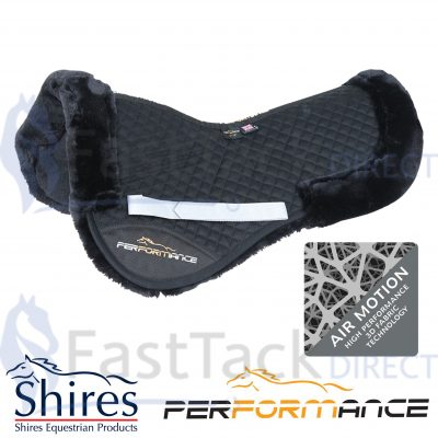 Shires Performance Fully Lined Half Pad