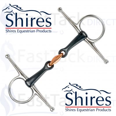Shires Universal Sweet Iron Bit with Lozenge