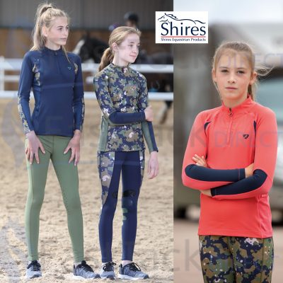 Shires Childs Aubrion Newbury Long Sleeve Base Layer