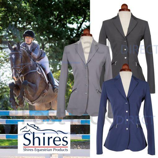 Shires Ladies Aubrion Oxford Show Jacket