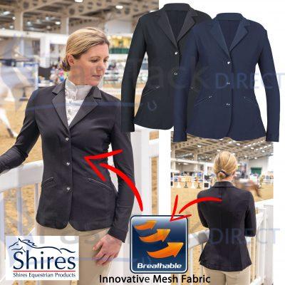 Shires Ladies Aubrion Goldhawk Show Jacket