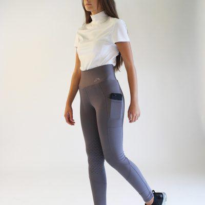 Gallop Comfort High Waist Pocket Tights