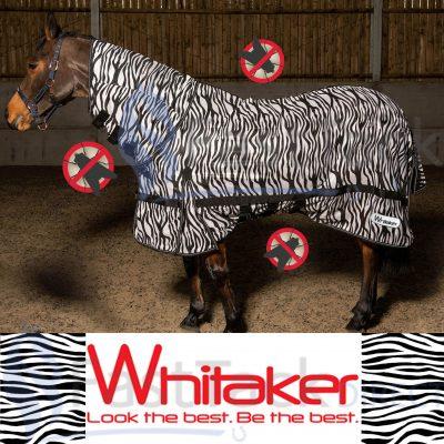 Whitaker Marwell Combo Neck Zebra Fly Rug