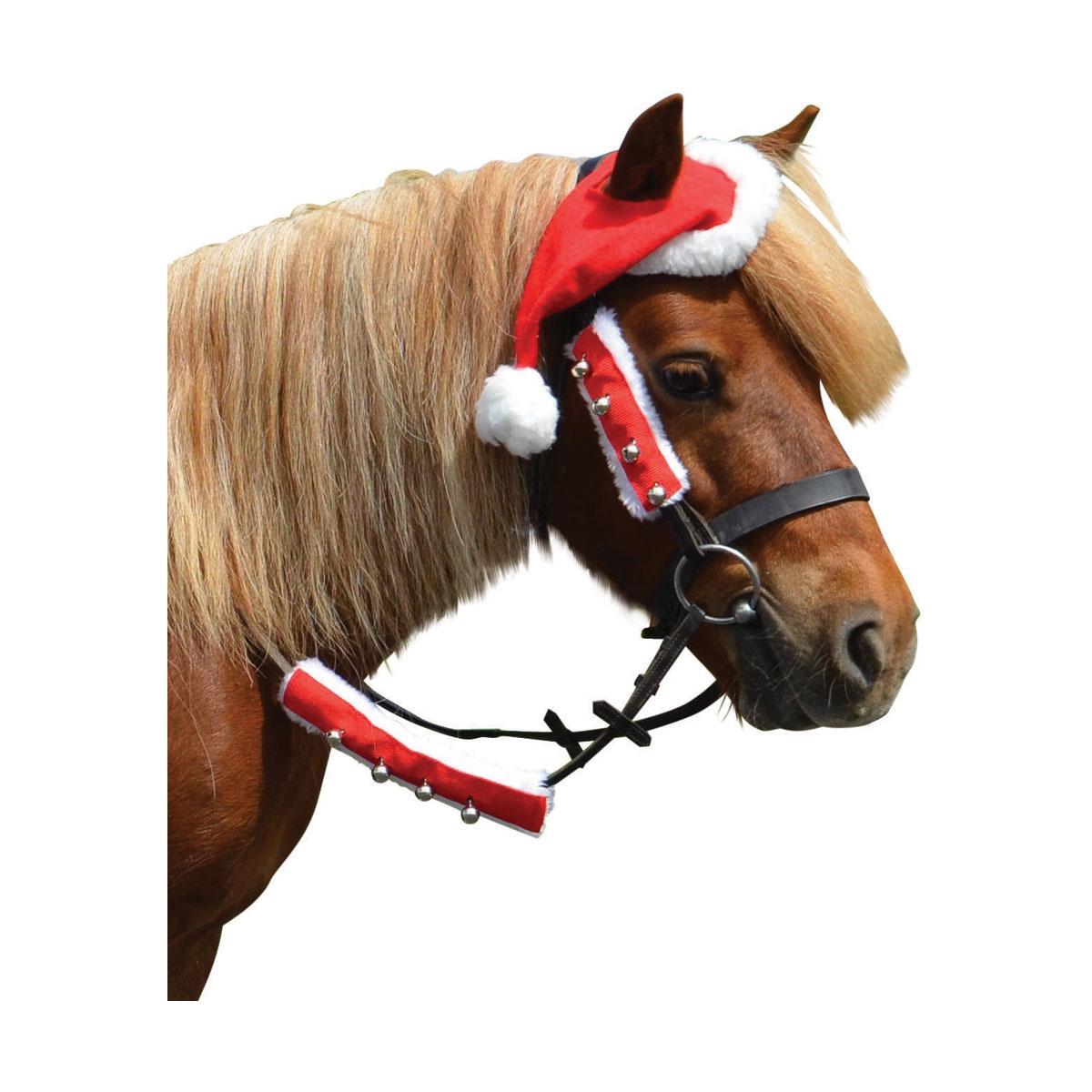 Hy Christmas Santa Horse Hat Fast Tack Direct