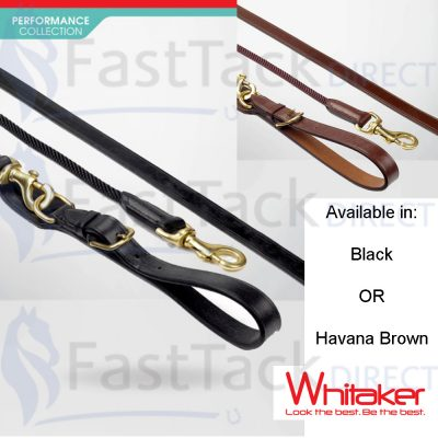 Whitaker Draw Reins with Rope Insert