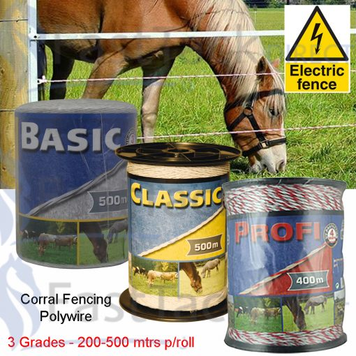 Corral Electric Fencing Polywire