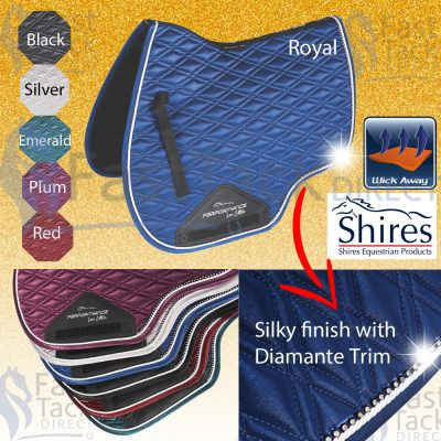 Shires Performance Euro Cut Luxe Saddlecloth