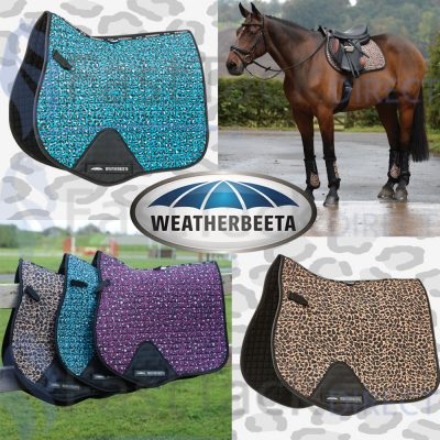 Weatherbeeta Prime Leopard All Purpose Saddle Pad