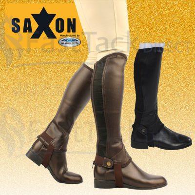 Saxon Equileather Half Chaps