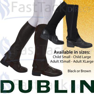Dublin Stretch Fit Half Chaps